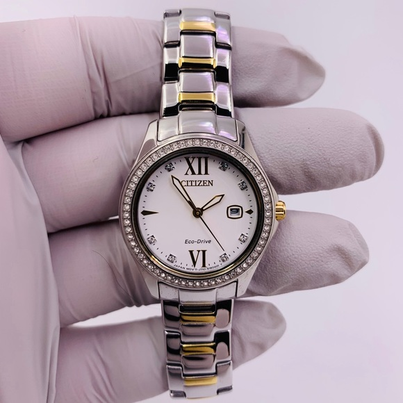 b8b1be4fa59c66 Citizen Accessories | Womens Watch Two Tone Stainless Steel | Poshmark